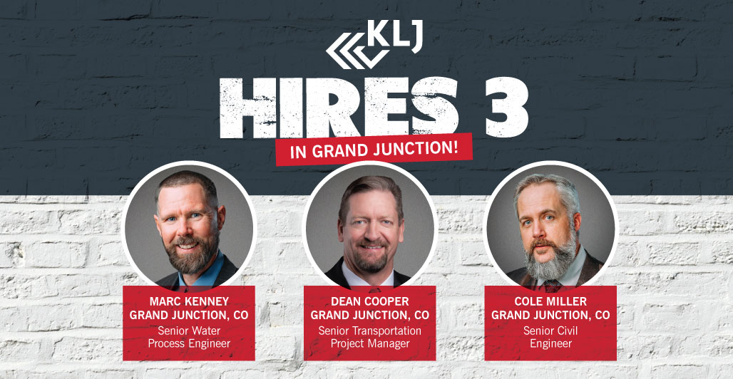 KLJ Hires Three in Grand Junction, CO