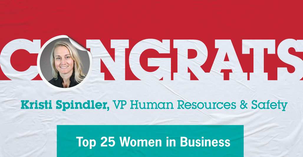 Kristi Spindler Named Among Top 25 Women in Business