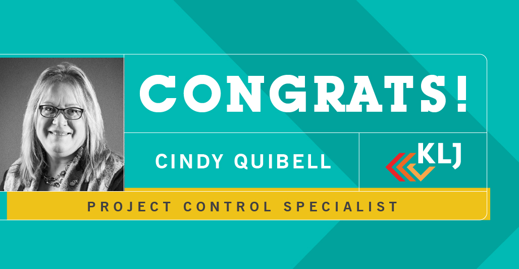 Quibell Promoted to Project Control Specialist