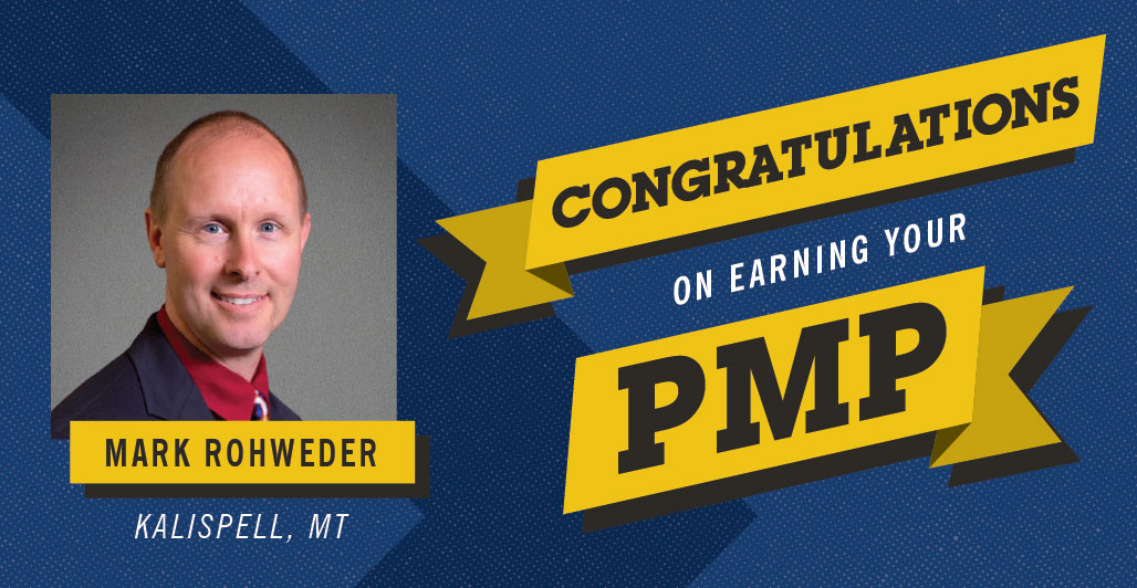 KLJ'S ROHWEDER EARNS PMP CERTIFICATION