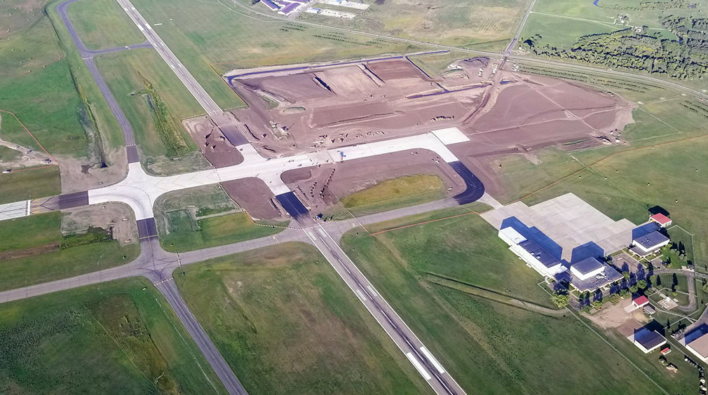 Bismarck Airport Reconstruction