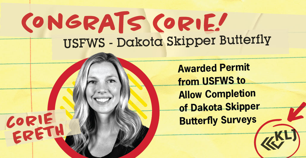 Ereth Awarded USFWS Permit for Dakota Skipper
