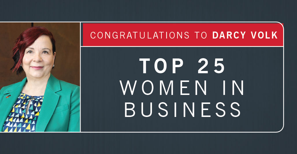 Volk Named Prairie Business Top 25 Women in Business
